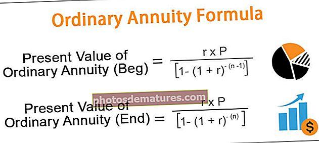 Fórmula de anualitat ordinària