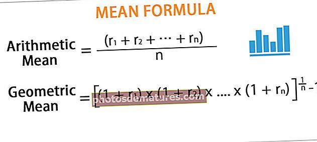 Fórmula mitjana