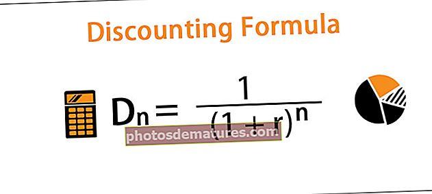 Fórmula de descompte