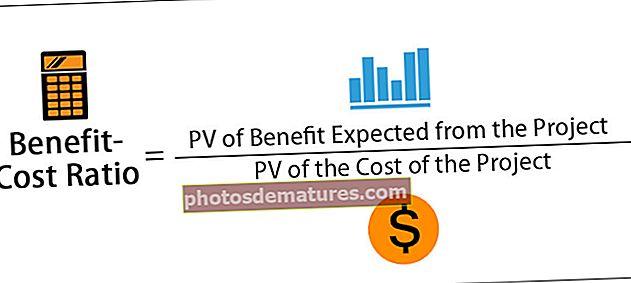 Relació de costos de beneficis