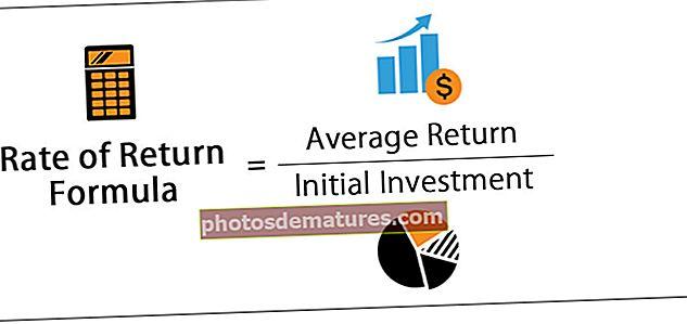 Fórmula de taxa de devolució