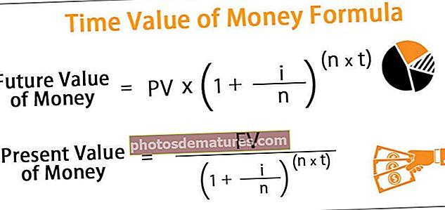 Fórmula temporal del valor dels diners