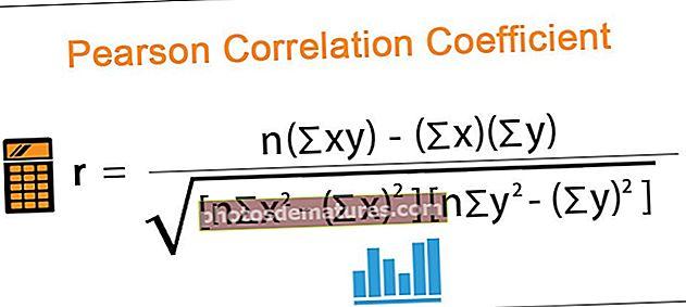 Coeficient de correlació de Pearson