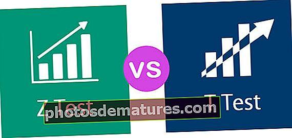 Prova Z vs Prova T