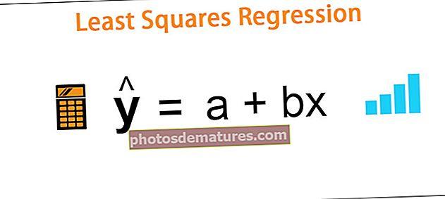 Regressió de mínims quadrats
