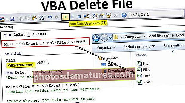 VBA Delete File