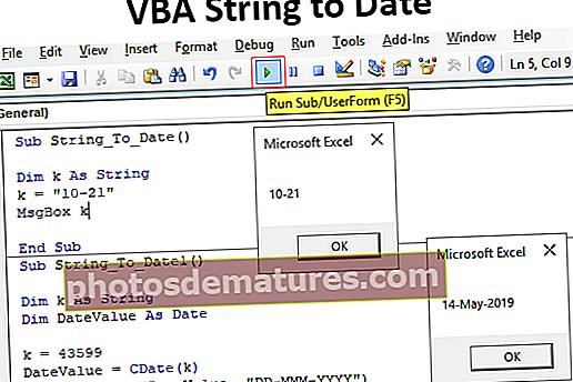 Cadena VBA fins a la data
