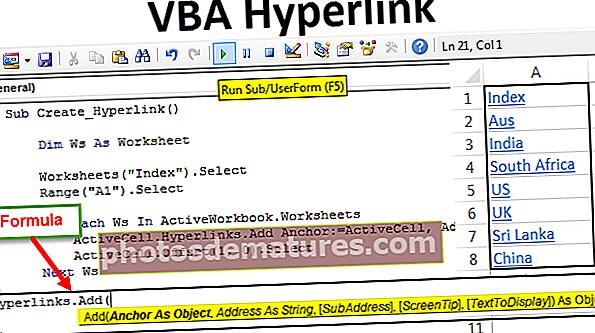 Hipervincles VBA