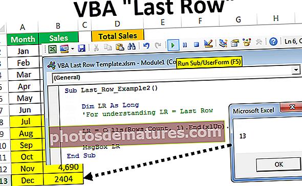 VBA Last Row