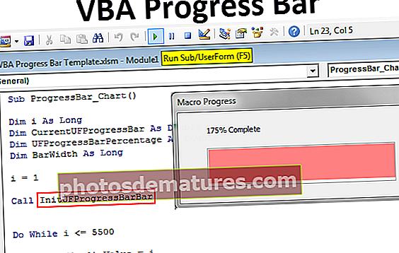 Barra de progrés VBA