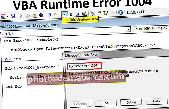 Error VBA 1004