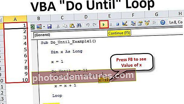 Fer VBA fins a bucle