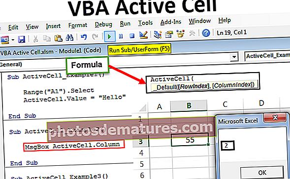 VBA Active Cell