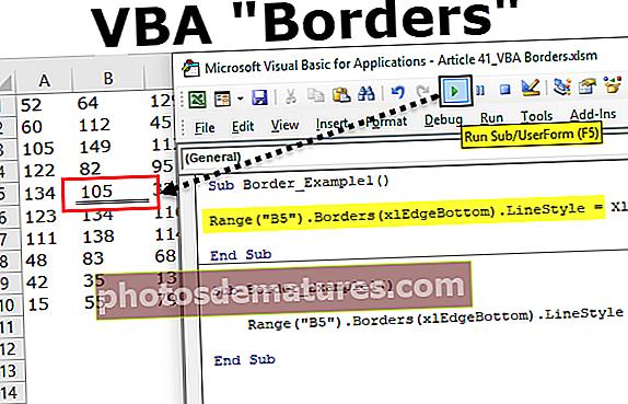 VBA Borders