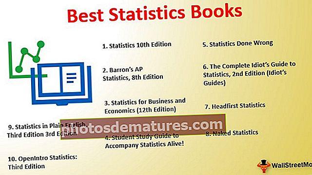 Els 11 millors llibres d'estadístiques