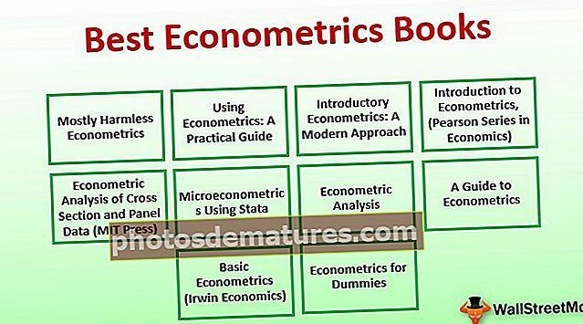 Millors llibres d'econometria