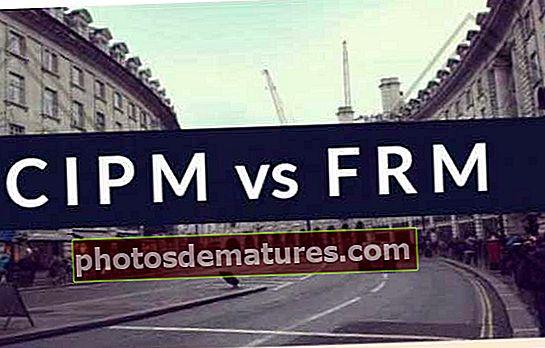 CIPM contra FRM
