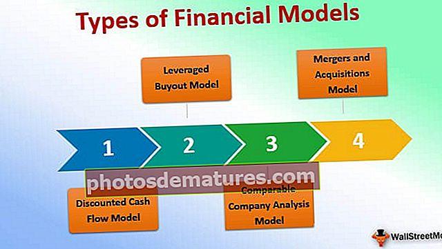Tipus de models financers