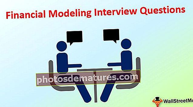 Preguntes d'entrevistes sobre modelització financera (amb respostes)