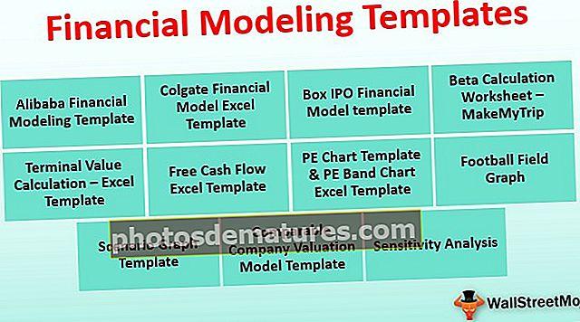 Plantilles de modelització financera