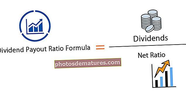 Fórmula de la ràtio de pagament del dividend