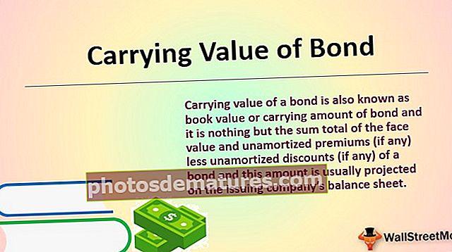Књиговодствена вредност обвезнице