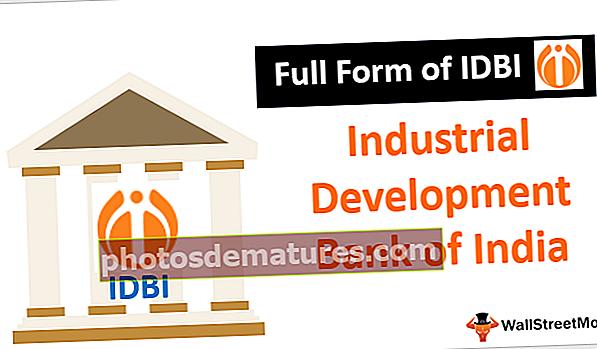 Formulari complet d'IDBI