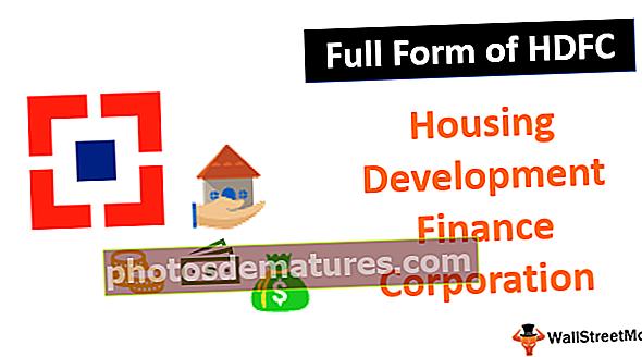 Forma completa de HDFC