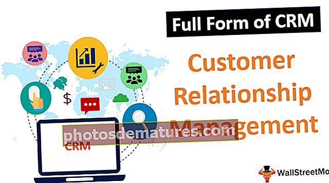 Formulari complet de CRM
