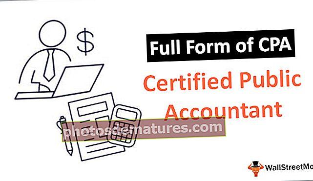 Formulari complet de CPA