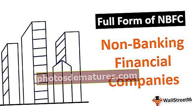 Formulari complet de NBFC