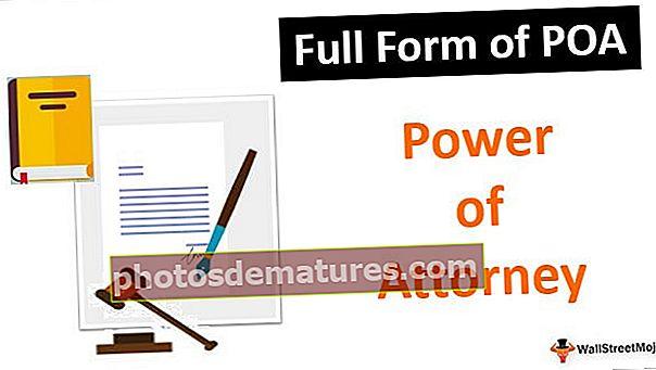 Formulari complet de POA