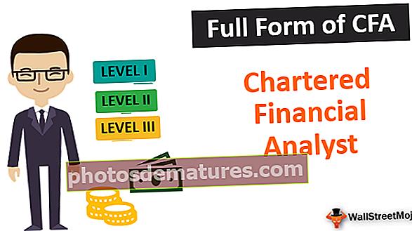 Formulari complet de CFA