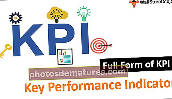 Formulari complet de KPI
