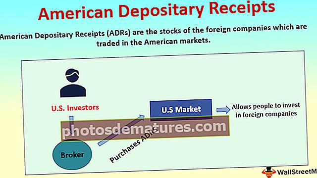 Rebuts de dipòsit americà (ADR)