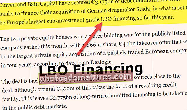 Finançament LBO