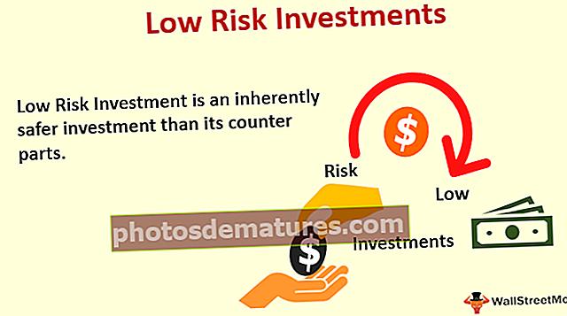 Inversions de baix risc