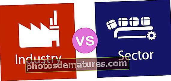 Indústria vs Sector
