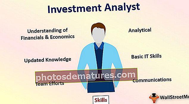 Инвестициони аналитичар