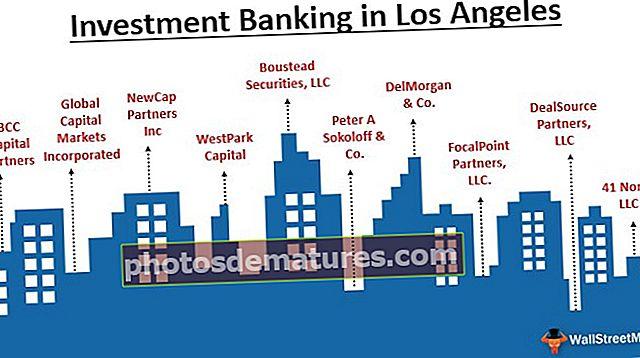 Banca d'inversions a Los Angeles