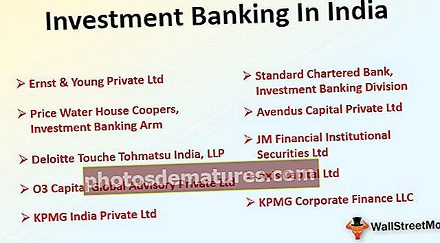Banca d'inversió a l'Índia | Llista de bancs principals | Salari | Treballs