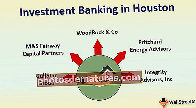 Banca d'inversions a Houston