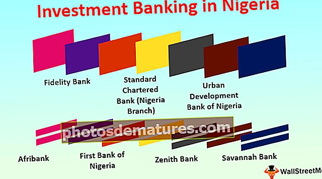 Banca d'inversions a Nigèria