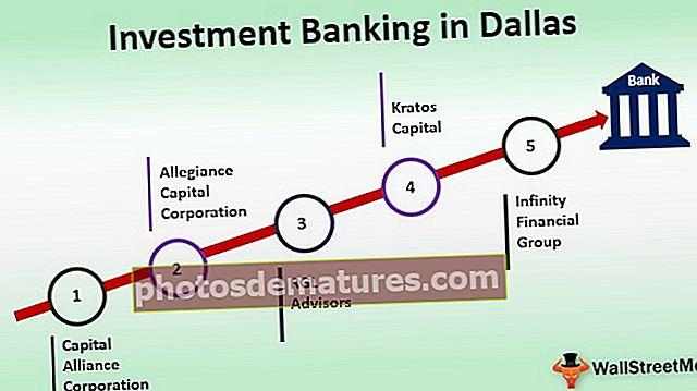 Banca d'inversions a Dallas