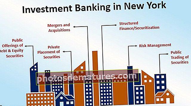 Banca d'inversions a Nova York