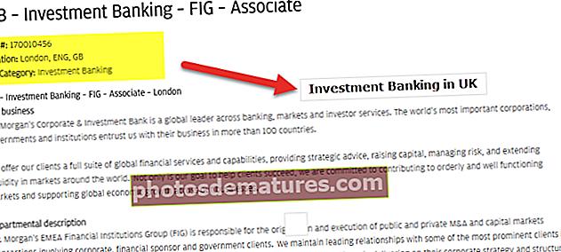 Banca d'inversions a Londres (Regne Unit)