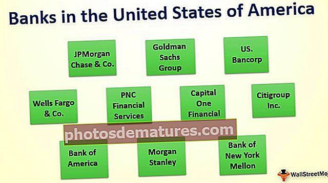 Top 10 dels bancs dels Estats Units d'Amèrica (EUA)