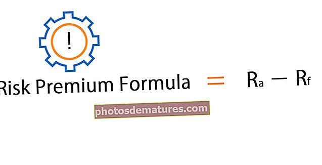 Fórmula Risk Premium