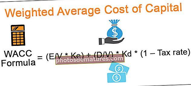 Cost mitjà ponderat del capital
