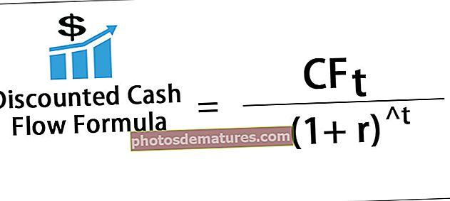 Fórmula DCF (flux de caixa amb descompte)